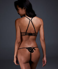 Soutien-gorge à armatures non-préformé Yuna, Noir