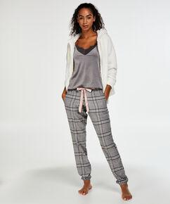 Pantalon de pyjama Check, Gris