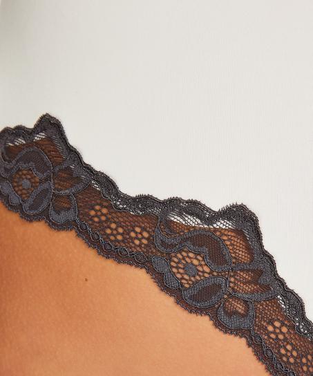 Boxer Secret lace, Blanc