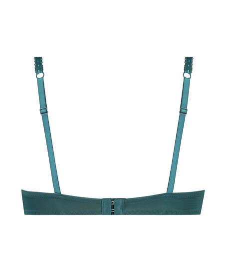 Voorgevormde push-up beugel bh Maya, Blauw