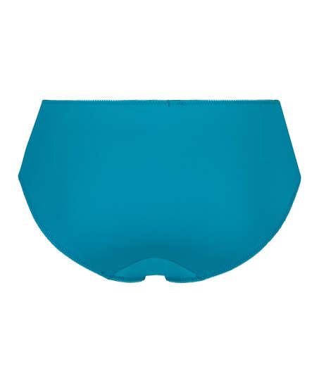 Slip taille haute Diva, Bleu