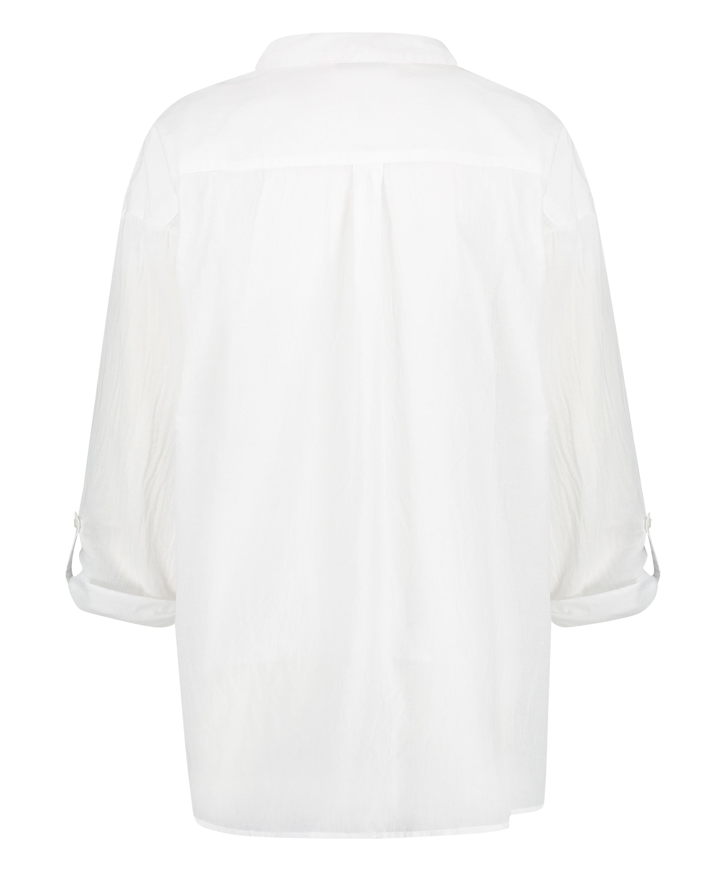 Strand blouse, Wit, main