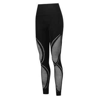HKMX Legging de sport taille haute sans couture Comfort, Noir