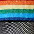 1 paar sokken Pride, Zwart