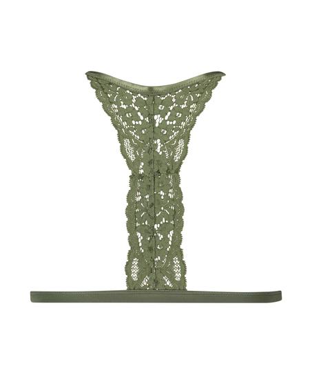 Brassière triangulaire moulée Rose, Vert