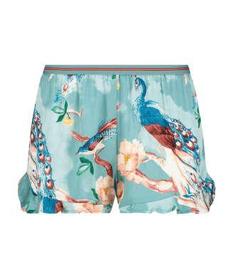 Pyjama shorts, Blauw