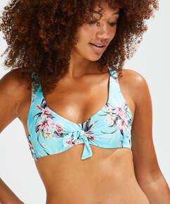Haut de bikini à armatures non préformé Bea, Bleu