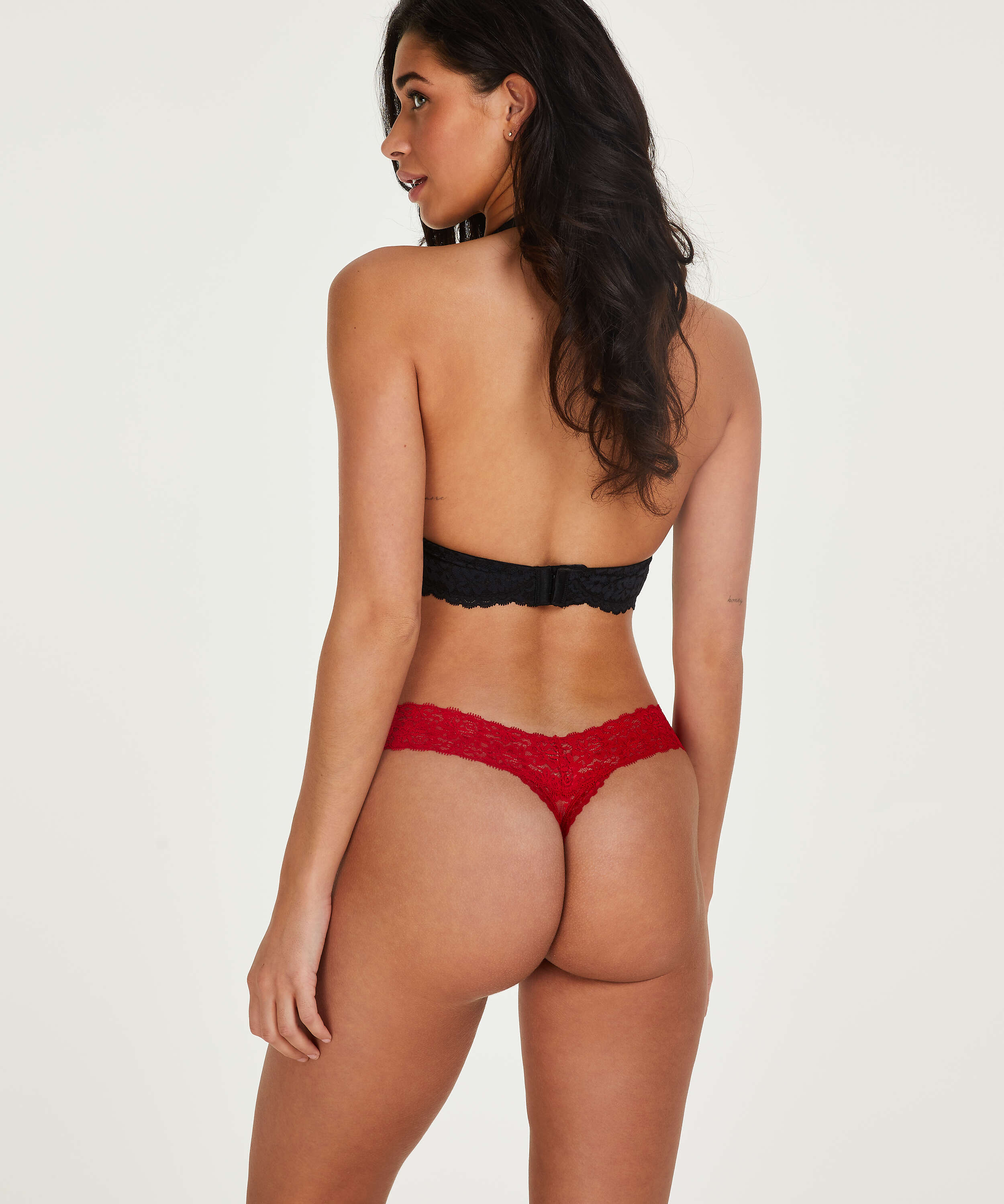 String Floral lace, Rood, main