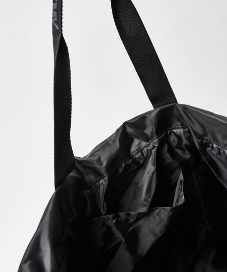 Tote bag HKMX, Noir