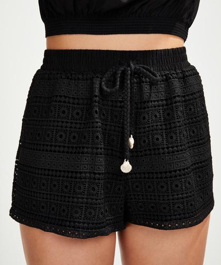 Short Crochet, Zwart