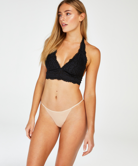 Invisible t-string micro, Beige