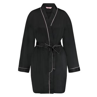Kimono Satin, Noir