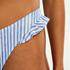 Bas de bikini échancré Julia, Bleu