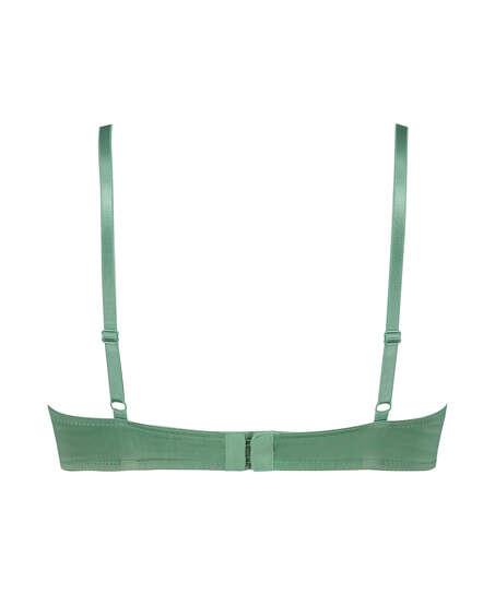 Voorgevormde beugel bh Plunge, Groen