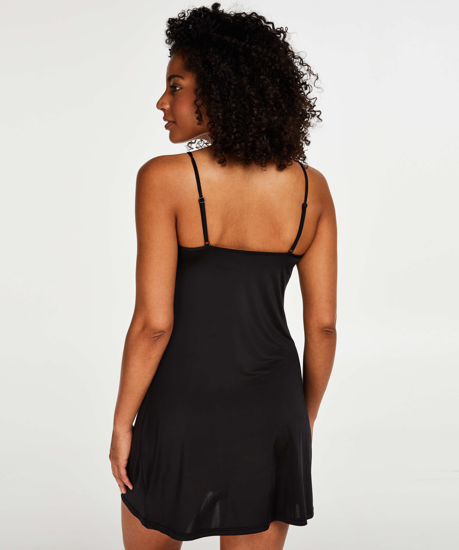 Fond de robe lissant - Level 1, Noir, main