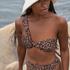 Voorgevormde bikinitop Animal HKM x NA-KD, Bruin