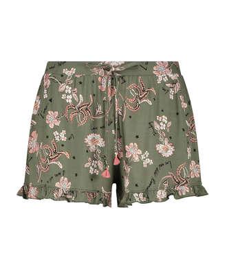 Pyjama short Jersey, Groen