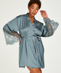 Kimono Satin, Vert