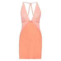 Nuisette Lace Satin, Orange