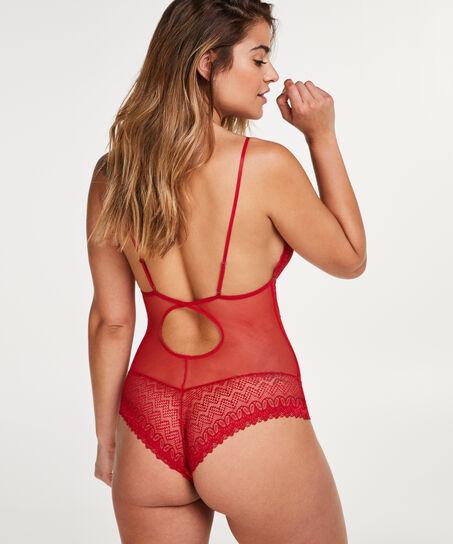 Body Géo Lace, Rouge