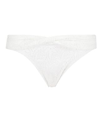 Rio bikinibroekje Etta Crochet, Wit