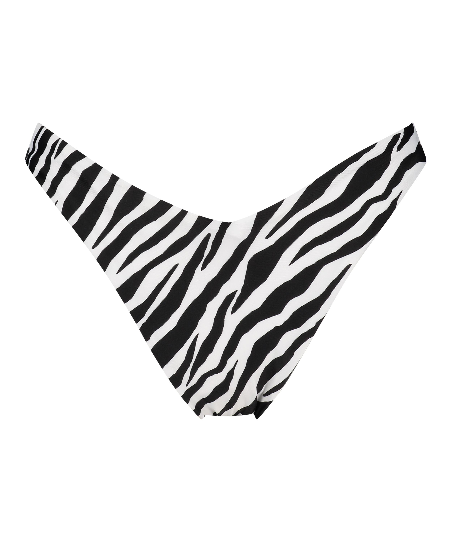 Bas de bikini rio échancré HKM x NA-KD, Blanc, main